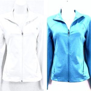 2!! Long Sleeve Champion Workout Jackets!!